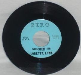 Whispering Sea ZERO LABEL 1960