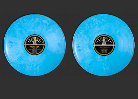 Van Lear Rose LIMITED BLUE VINYL AUG 9TH 2011